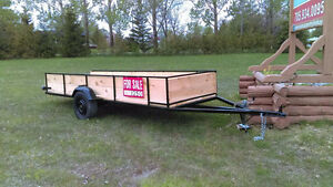 Twin 4wheeler trailer