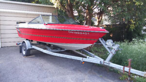 Cobia Odissey Boat with Trailer. Ready to go.