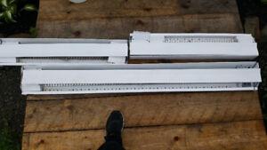3 Baseboard heaters for sale