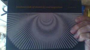 Fundamentals of Electricity and Magnetism Hardcover-1969