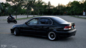 Swapped Corolla or Civic
