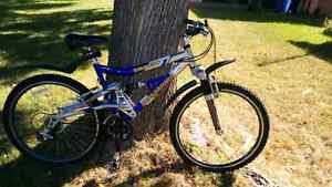 "Nakamura 24 speed mountain bike - 18"" adult medium"