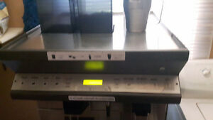 Superautomatic espresso machine out of a starbucks