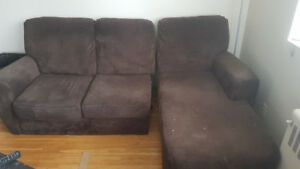 Broken 3 seat sectional for free