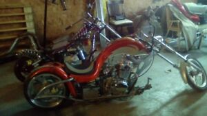 chopper mini moto