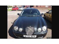 2002 jaguar s type 4.2 v8 r supercharged auto 400bhp spares or repairs