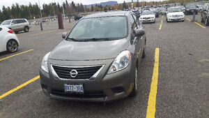 2012 Nissan Versa 1.6 SV Sedan transferable 3 year warranty