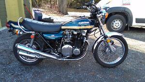 kawasaki Z1 900 B 1975 completely restored. kz z1r h1 h2