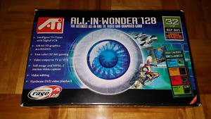 ATI all-in-wonder 128 32mb video and graphics card