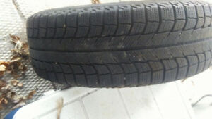 Good condition 205 50 R15 snow tires