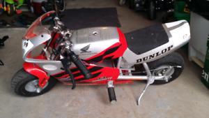 Minimoto honda électrique pocket bike