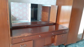 REDUCED!!!Retro Nathan teak dresser dressing table