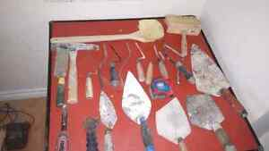 Masonery tools