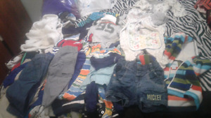 Lot of 0-3 month baby boy's clothes