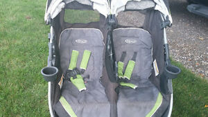 Graco fastaction double stroller London Ontario image 2