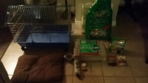 Rodent cage and supplies