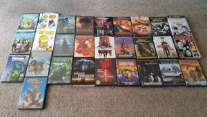 DVD's $3.00 Each
