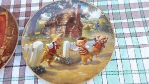 Knowles Fairy Tale Collector Plates by artist Scott Gustafston Stratford Kitchener Area image 6