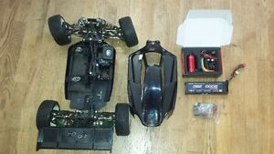 RC Losi 8ight 2.0 buggy 4x4 electric