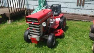 massey riding lawn tractor
