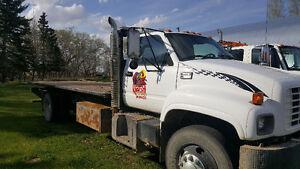 gmc 7500 deck truck