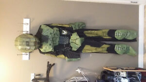 Master chief Halo costume extra small adult with helmet Strathcona County Edmonton Area image 1