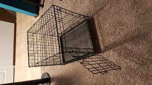 Wire dog crate Excellent condition