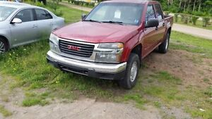 2005 GMC CANYON LT  SUNROOF AND LEATHER