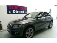 * 2014 Audi Q5 2.0Tdi Quattro 4x4 S-Line Plus 5Dr Auto in Daytona Grey ONLY 48k