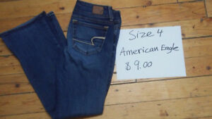 Womens brand name size 4 bottoms