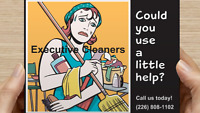 The cleaning lady @ Executive cleaners (freelance cleaning).