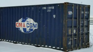 Sea containers for sale.