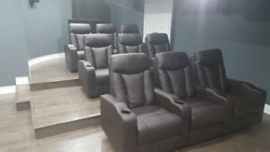 Recliners, led lights, Couch, Electric, manual, gaming chairs, 1