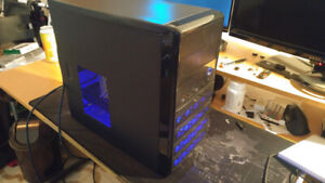 GAMING PC Xeon (I5), 8GB RAM, R9 280X 3GB, 120SSD + 500HDD, WIFI