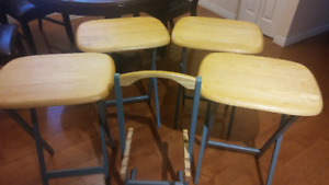 Set of 4 bar chairs. $25 for all