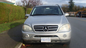 2002 Mercedes-Benz Other SUV, Crossover