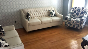 Brand new 3 Piece sofa set different colors to pick from (1616)