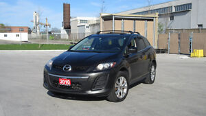 2010 Mazda CX-7, AWD, Lethear, Sunroof,  3/Y Warranty available