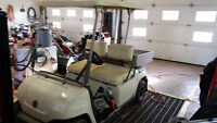 YAMAHA ELECTRIC GOLF CART WITH UTILITY BOX FOR SALE!! AWESOME!!