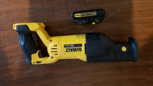 Dewalt 20v sawzill & Battery.