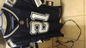 Brand new cowboys jersey with Elliot on back