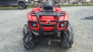 2009 Can-am Outlander 500 Fuel Injected HO 4x4