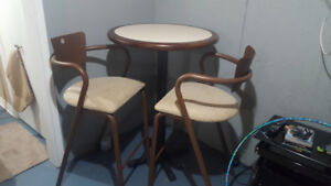 Bar Table & 2 Chairs