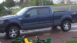 2008 Ford F-150 Blue Pickup Truck fx4