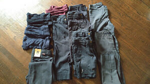 Doyle girls uniform sz 27 some 26 and 28 shorts