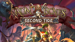 BOARD GAME - Rum & Bones 2nd Tide Exclusive Hero pack (no base)