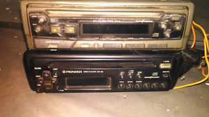 Two Pioneer Car Stereos