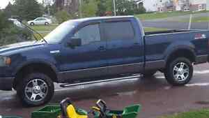 2008 Ford F-150 Blue Pickup Truck