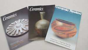 Ceramic Art / Pottery Magazines