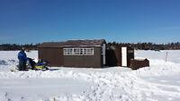 Ice Hut Rental